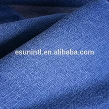 Brand blue cotton lycra indigo denim fabric for jeans