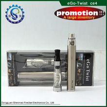 Hottest and newest ego c twist ,ego twist kit,twist 3.2-4.8v battery e cigarette