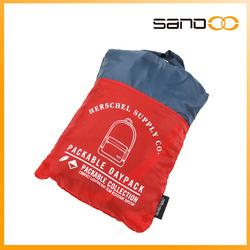 Lightweight waterproof nylon travel foldable bag, Packable Daypack Backpack