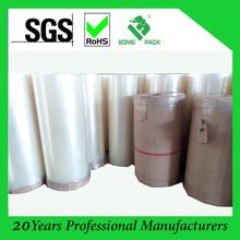 Dongguan factory top quality bopp tape jumbo roll (980/1280/1680mm*4000m)