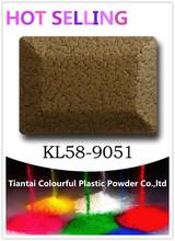 Metallic finishing electrostatic spray powder coatings KL58-9051