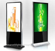 marvel 42 - 80 inch LCD advertising display / free standing kiosk / multi-media touch kiosk,display marketing