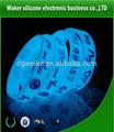 Silikon bilek bandı/silicone kauçuk gruplar/parlak dart silikon bilezik
