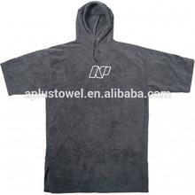 100% Velvet Cotton Custom Logo Printed adult Towelling Beach Robe