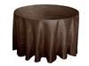Taffeta pintuck table cloth,table cloth ,table linen in chocolate color