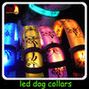 led dog collars rechargeable/led flashing dog collar/dog leash led wholesale pet collar