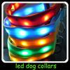 led flashing dog collar&leashes/led flash light dog/cat collar