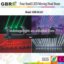 Led stage bar light/ 4 Heads Mini led moving head beam