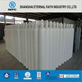 De acero del cilindro de gas de oxígeno/nitrógeno/argón del cilindro de gas de acero sin costura del cilindro