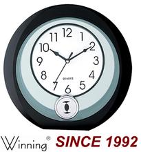 Round Shape Plastic Desk Clock, Clock Desk