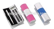 promotional plastic mini magic calculator with pen