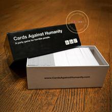 Rigid handmade playing card box