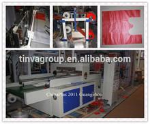 automatic tshirt shopping plastic bags machine price