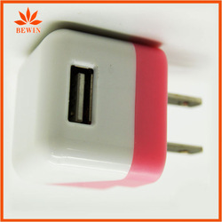 Dual port eu usb wall charger for iphone