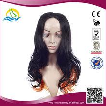 2014 Hot selling kanekalon japanese wet and wavy full lace wigs