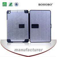 Tablet cover standing aluminum pc aluminum pc case for Ipad mini