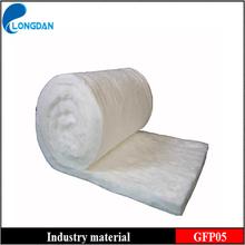 Formaldehyde-free Glass wool blanket fireplace insulation