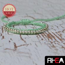 2014 Lover Promotion Gift Fashion Woven Beaded Bracelet
