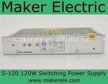 24 ac/ac power supply S-120-24 5A 120W