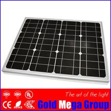 Mono silicon photovoltaic 60wp solar panel prices