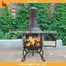Outdoor cast iron chimenea metal chimney