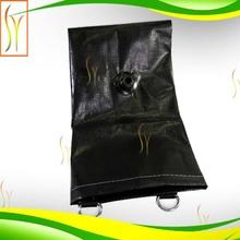 clear vinyl black mesh drain tarps