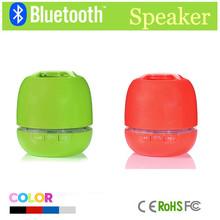 Colorful mini gift speaker small round speaker gift bluetooth speaker support FM radio