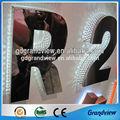 grande y hermoso led de pared bcklit las letras del alfabeto
