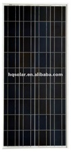High efficiency 150W A-grade solar cell poly solar panel with TUV CE MCS CEC