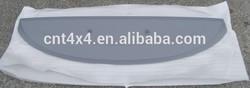 Plastic PP/ABS rear wing for KOLEOS 2009-2012