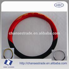 Leather Steering Wheel Cover for Toyota Nissan Hyundai Kia