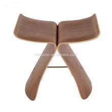 wood stool butterfly stool art decoration stool
