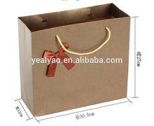 2014 high quality good sale popular shopping Craft Paper Bag