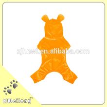 Cute Orange Warmly Dog Winter Jumpsuit/pet jumpsuit