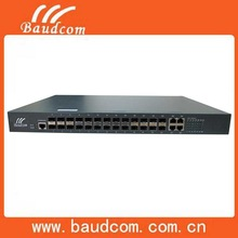 Manageable 24ports SFP Fiber Optic Ethernet Switch