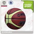 Couro do plutônio bola de basquete, basquete traning, tamanho oficial de basquete 7