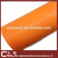 "Pvc 50 "" X100 ' 3d fibra de carbono filme de transferência de água carbono self adhesive vinyl"