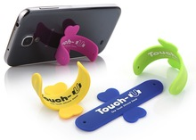 Promotion silicone mobile phone holder from Factory TOUCH U