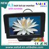 4.3 inch tft car monitor with AV1/AV2 for car rear view back