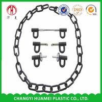 Plastic steel small chain cast net