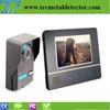 Wonderful Black Color Super Thin Design Video Door Bell Intercom TEC711FA11