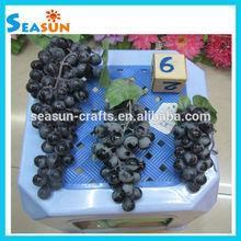 custom cinghia di plastica artificiale grappolo uva falso frutto decorazione della casa oggetti di scena