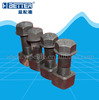 HIgh tensile good quality excavator track bolt and nut