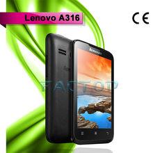 Low Price China Mobile Phone 4Inch Dual SIM 3G Lenovo A316