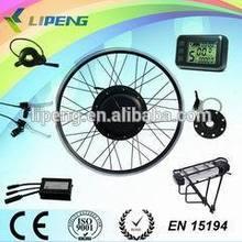 500w rear wheel driving hub motor electric bicycle conversion kit