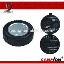 DK-313 Ningbo Dike 24pcs Special Promotion Gift Tool Set Tire Shape /Tool Kit/Gift tool set