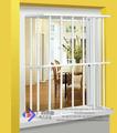 galvanisé en acier trempé de sécurité intérieure grill fenêtre