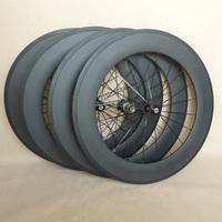 700C Chinese high profile carbon wheels 88mm*23mm clincher wheels Novatec hub 20H/24H 3K glossy
