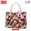 2015 Fashion Ladies Cotton Floral Large Tote Handbag Quilt Bag Sac a main