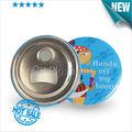 metal magnético branco imã de geladeira personalizado de cerveja abridor de garrafa 58mm 1000 pcs